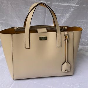 Kate Spade| single compartment satchel|